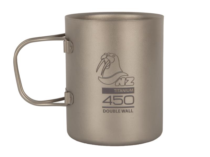 фото NZ - Термокружка Ti Double Wall Mug 450 ml TMDW450FH