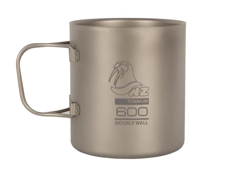 фото NZ - Термокружка Ti Double Wall Mug 600 ml TMDW600FH