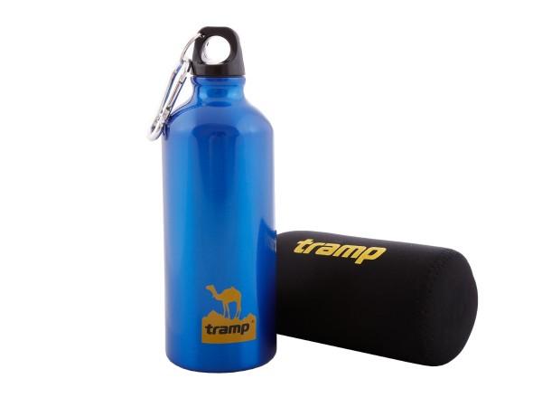 Бутыль Tramp TRC-033 алюминиевая в чехле 0.6 л
