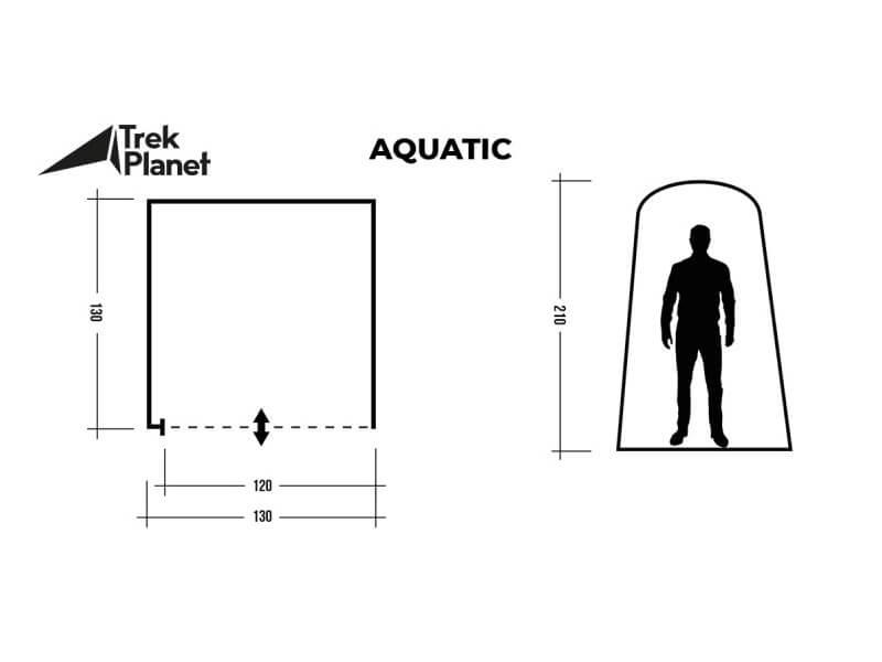 фото Палатка душ-туалет Trek Planet Aquatic