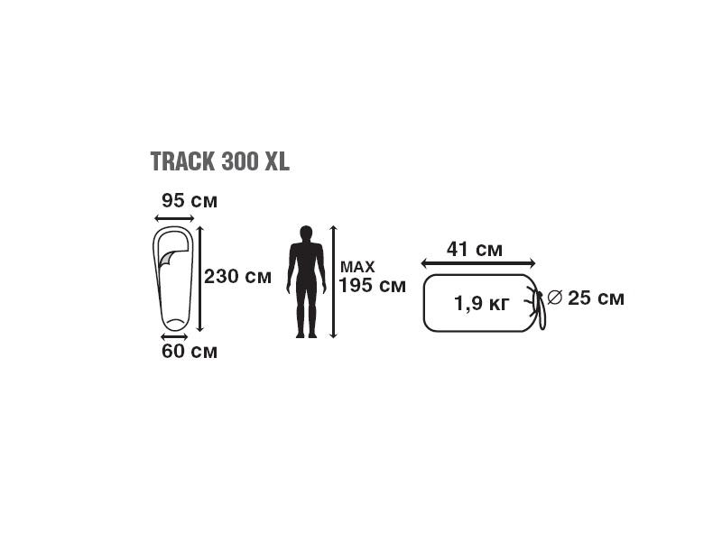 фото Спальный мешок Trek Planet Track 300 XL (t°комф. 6)