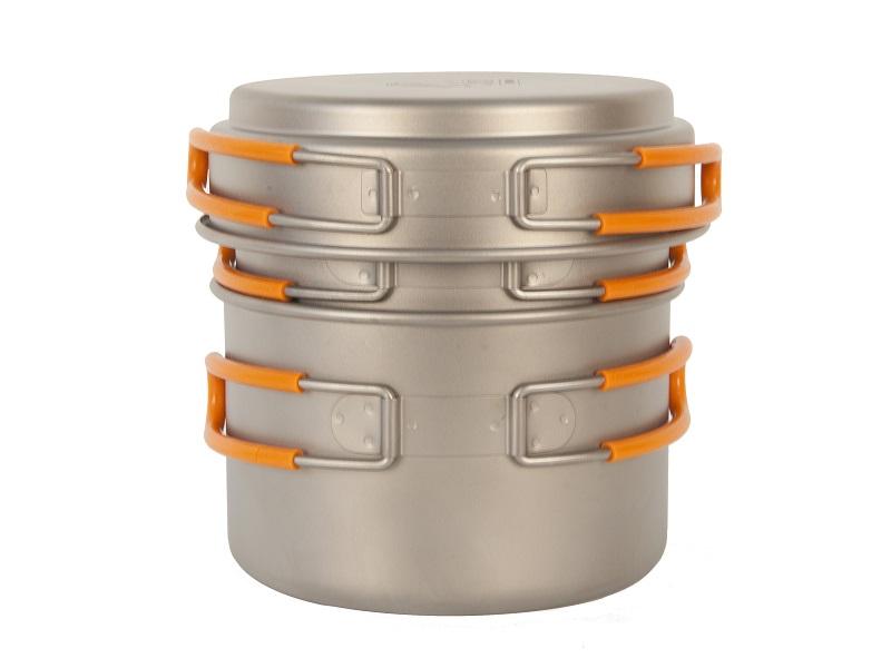 фото NZ - Набор посуды Ti Pot Set TS-014