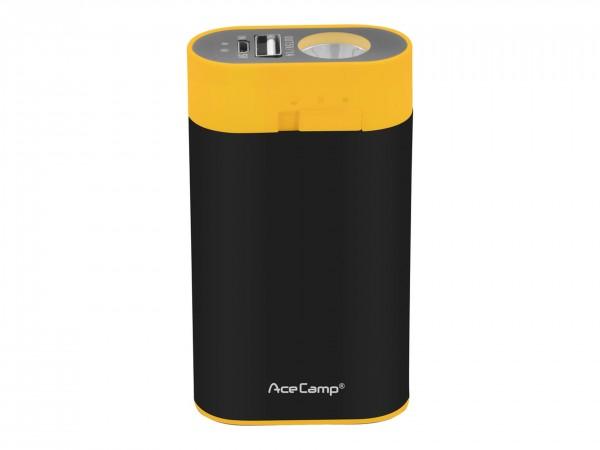 Внешний аккумулятор с грелкой для рук 3-в-1 AceCamp на 4400 мАч