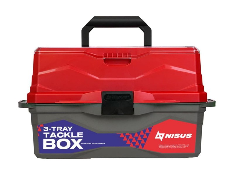 фото Ящик для снастей NISUS Tackle Box N-TB-3-R красный