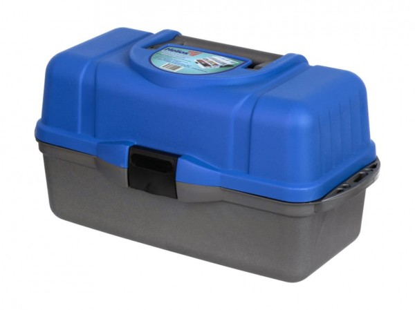 Ящик рыболова Helios трехполочный синий