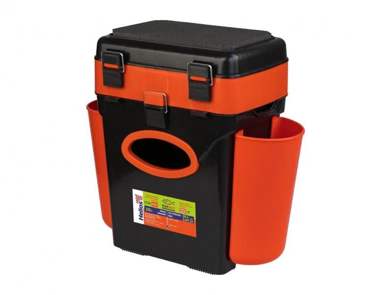 фото Ящик зимний Helios FishBox 10л оранжевый