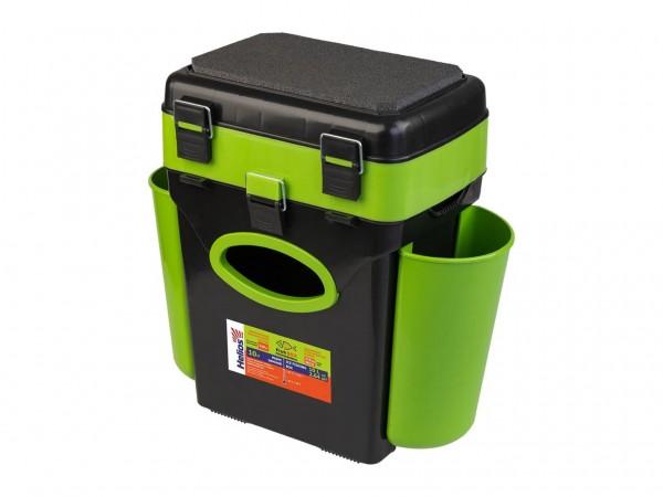 Ящик зимний Helios FishBox 10л зеленый