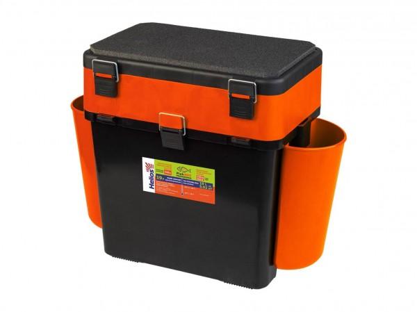 Ящик зимний Helios FishBox 19л оранжевый