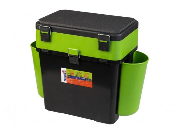 Ящик зимний Helios FishBox 19л зеленый