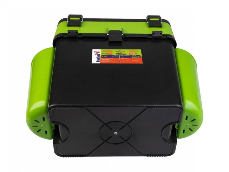 фото Ящик зимний Helios FishBox 19л зеленый