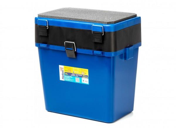 Ящик зимний Helios Ящик-М двухсекционный синий