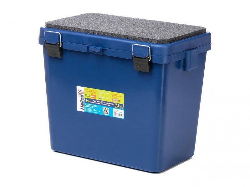 фото Ящик зимний Helios Ящик-М односекционный синий